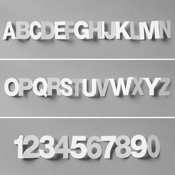 plenty of colour #type #alphabet #connected
