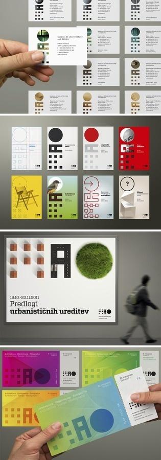 MAO Museum of Architecture and Design ilovarstritar.com #dynamic #identity #museum