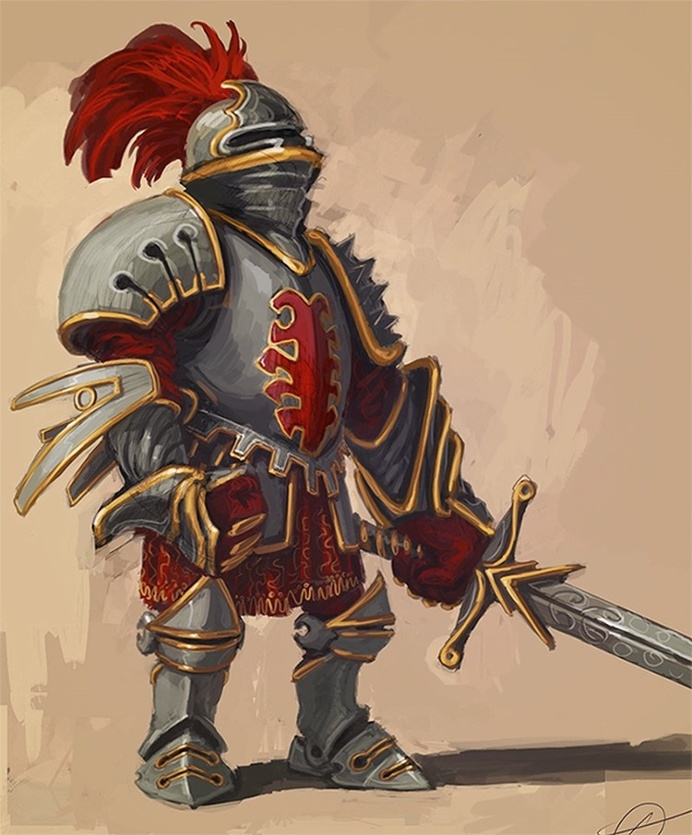 Comic Character Design for Games by Catalin Lartist