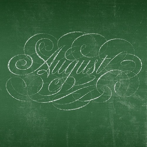 Typeverything.comAugust by heypenman. #august #lettering #script