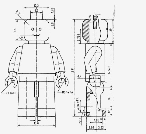 fucktum, jaymug: Lego Minifigure Patent drawing by Jens... #lego #map #acotado #kids #layout #drawing #toy