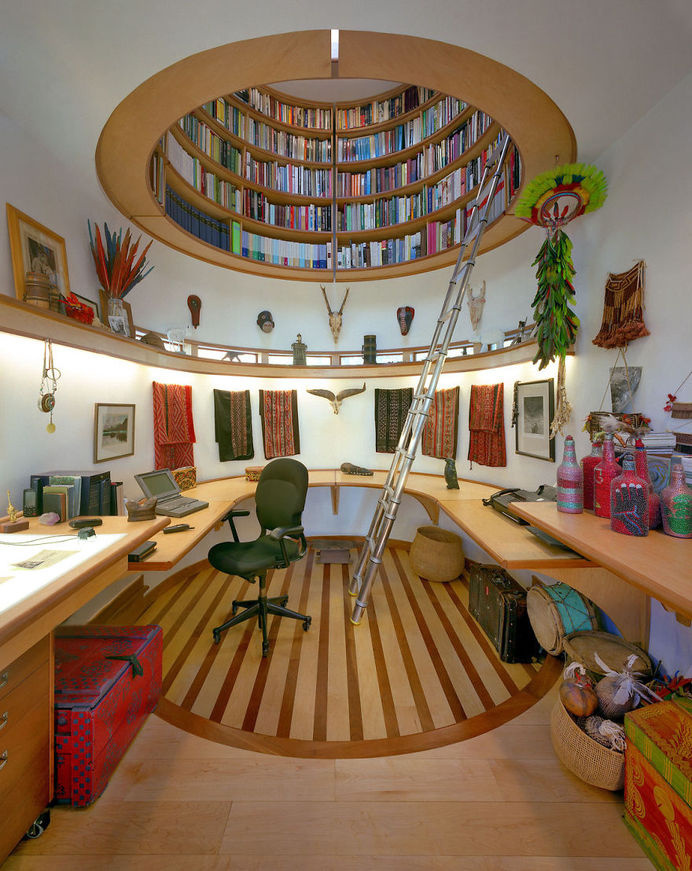Ceiling Library #interior #design #decor #deco #decoration