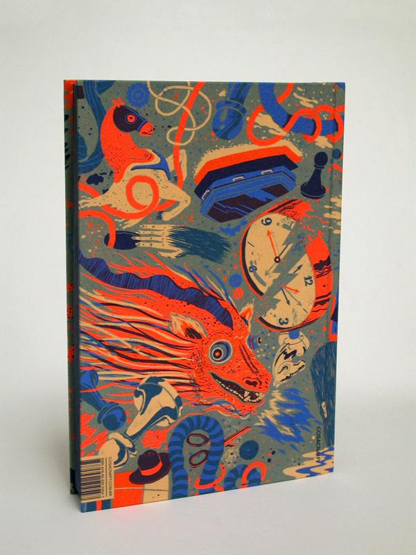 Antologia Literatura Fantástica on Behance #colour