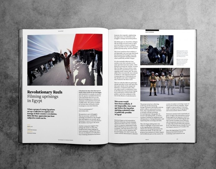 The Outpost Magazine #editorial #layout #outpost #magazine