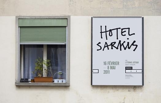 gva studio - typo/graphic posters #sarkis #gva #poster #hotel #typography