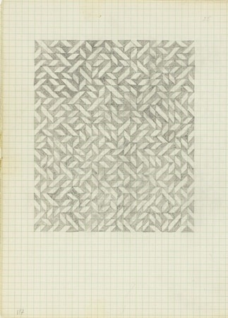 The Josef & Anni Albers Foundation #anni #from #a #drawing #geometric #on #albers #notebook #pencil #paper #1970