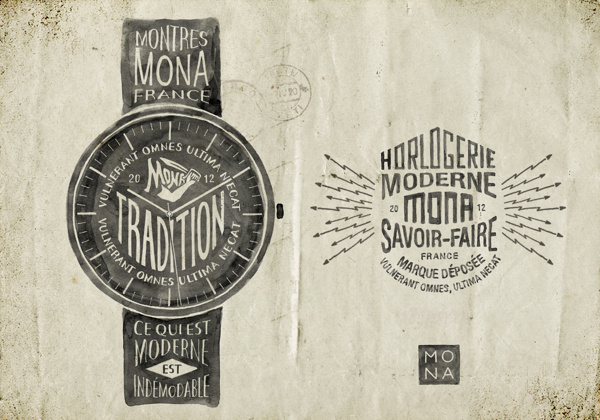 Montres MONA by BMD Design
