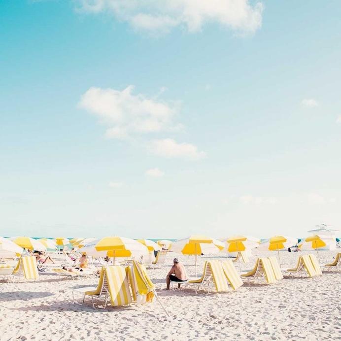 Minimalist and Striking Beach Landscapes by David Behar