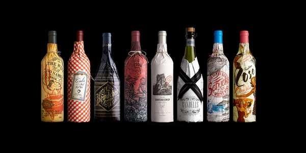 http://www.strangerandstranger.com/strangerthings/wp content/uploads/2012/09/safeway project.jpg #labels #packaging #print #color #wine