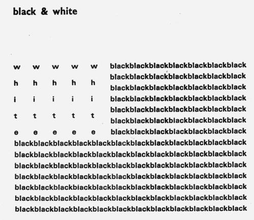 CARRÉ BLANC #& #black #white #minimalism