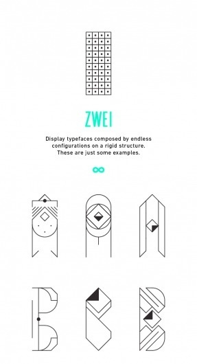 ZWEI Plus on the Behance Network #jocopo #zwei #alphabet #severitano #plus #typography