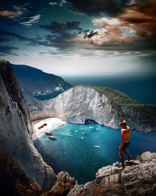 CJWHO ™ (Back to Zante by Dragan Todorović This is our...) #amazing #perspective #landscape #hot #cliff #summer #view