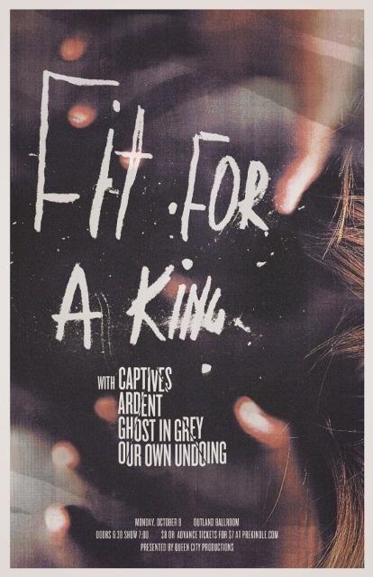 Garrett DeRossett | Work #gig #noir #horror #hardcore #poster #metal #scary #typography