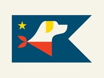 Dribbble - Friend by Doublenaut #icon #flag #illustration #logo #dog