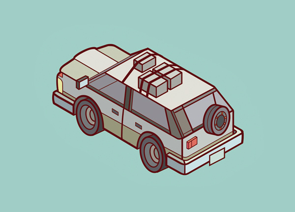 Chaos Objects #isometric