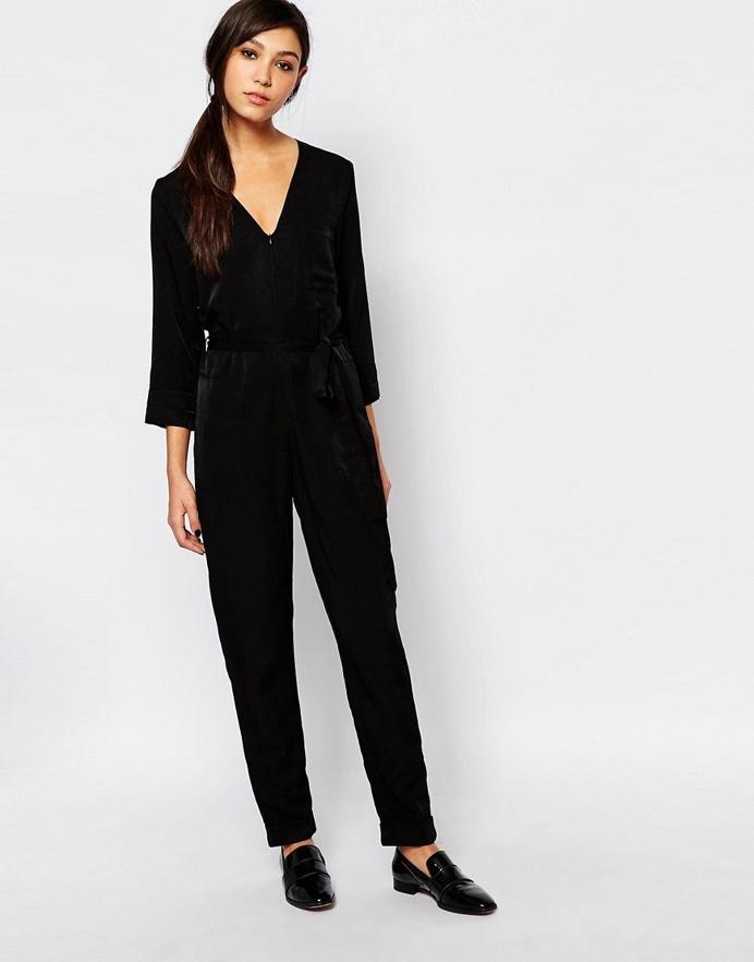 Neon Rose Relaxed Jumpsuit, ASOS