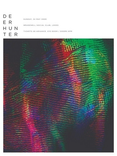 Deerhunter Gig Poster by The Small Stakes #deer #munn #hunter #small #jason #the #illustration #stakes #poster #music