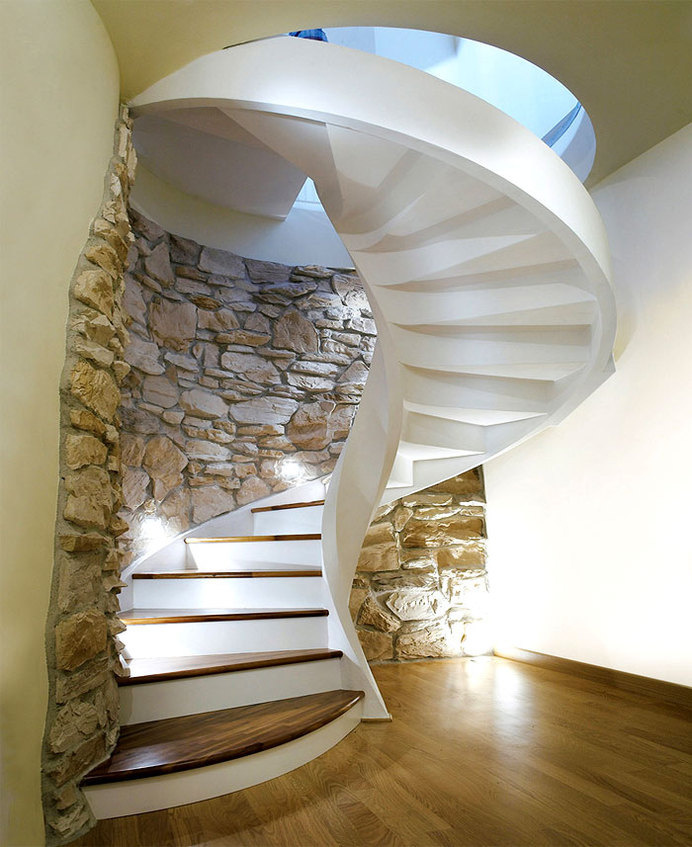Concrete Spiral Staircases by Rizzi concrete staircase rizzi #interior #concrete #spiral #stairs #staircases