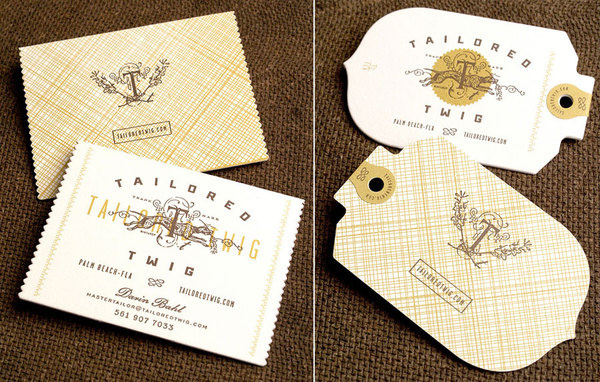 Tailor twig by Eric Kass Funnel via mr cup.com #mark #branding #letterpress #eric #tag #identity #kass #logo