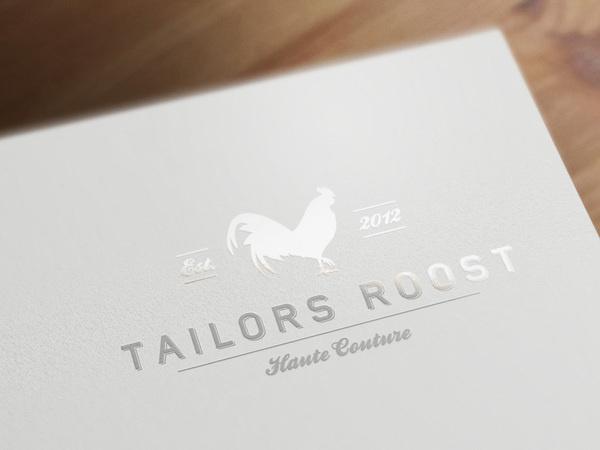 Tailors Roost J.T. Franks #logo #identity #branding