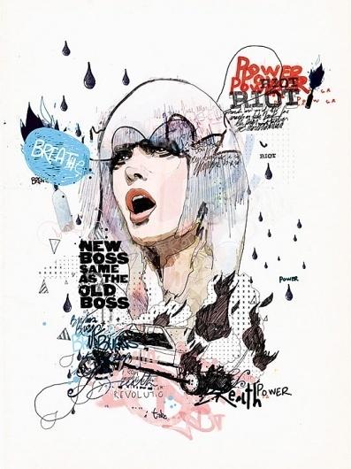 Web » Design You Trust – Social design inspiration! #poster #illustration #art