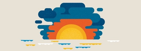 Sunset #richard #san #illustration #la #perez #francisco