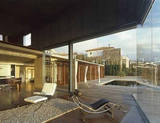 Glass and Concrete House Design in Canary Islands, Spain - a view to die for! | Modern House Designs #architecture