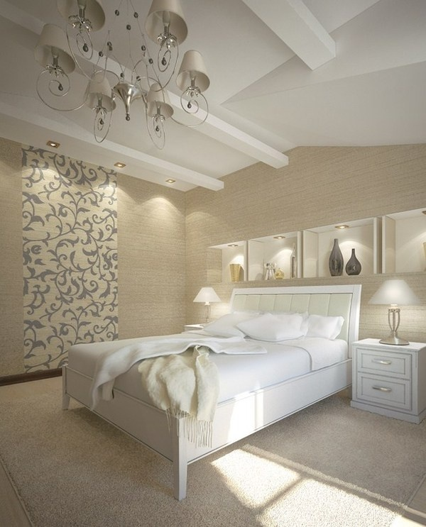 Luxury bedroom with artistic decor #artistic #bedroom #decor #bedrooms #art #artiistic