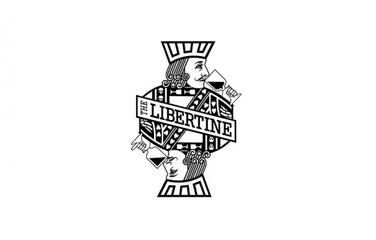 Very, Graphic Design Studio - The Libertine – Logo and Stationery #logo