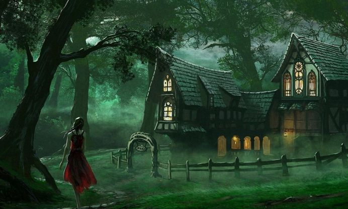 Fantasy Forest Girl Home Free Hd Wallpaper Download – WallpapersBae