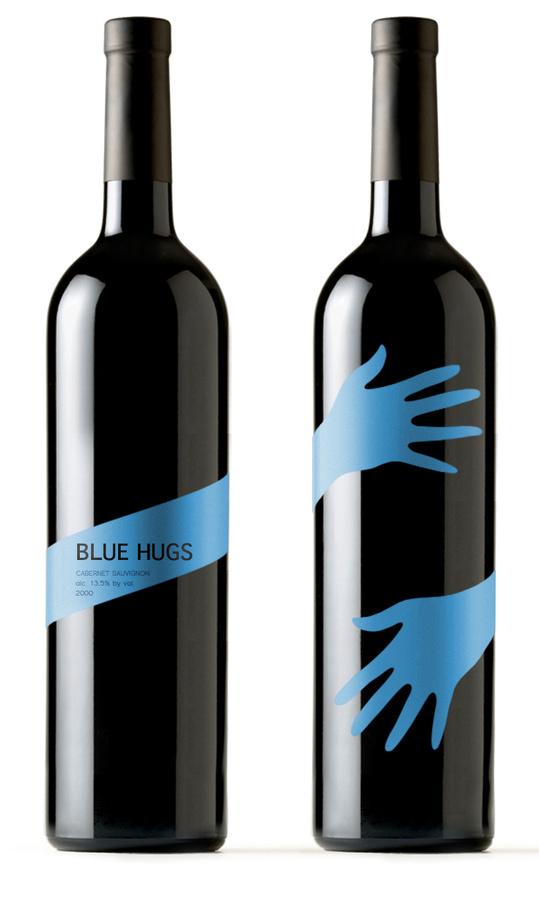 Blue Hugs Packaging, by Timur Salikhov #inspiration #creative #packaging #design #graphic #hug