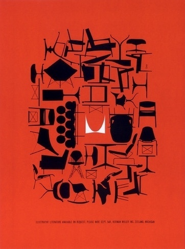 A Logo Legend - NYTimes.com #miller #chairs #advertising #furniture #poster #herman #eames