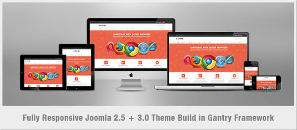 A-T-O-M | Responsive Multipurpose Joomla Theme #clean #theme #many #sophisticated #business #30 #is #portfol #k2 #a #styling #or #adaptable #m #and #+ #joomla #25 #lightweight #integration #more #bootstrap #the