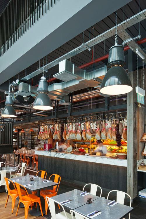 Jamie-s-Italian-in-Westfield, Stratford-City-Blacksheep-Jamie-Oliver-photo-Gareth-Gardner-Yatzer-4 #interior #design #restaurant