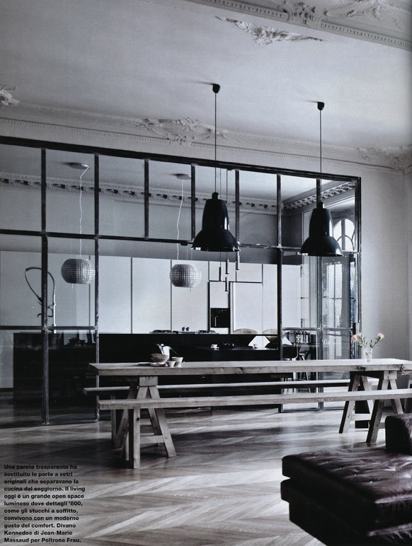 Lotta Agaton: Contrasts #interior #design #decor #kitchen #deco #decoration