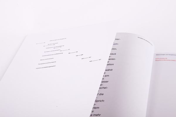 Table Of Contents Minimalist Typography White Swiss Index Suisse