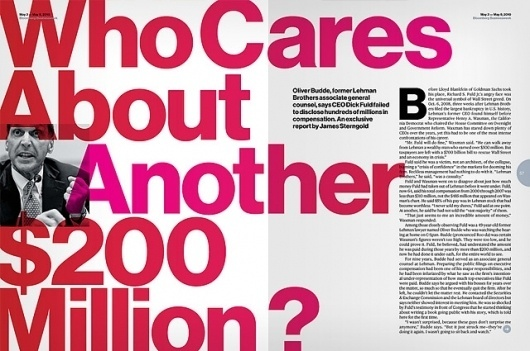 The Case and Point | Haas Grotesk for Bloomberg Businessweek #neue #grotesk #haas #typography