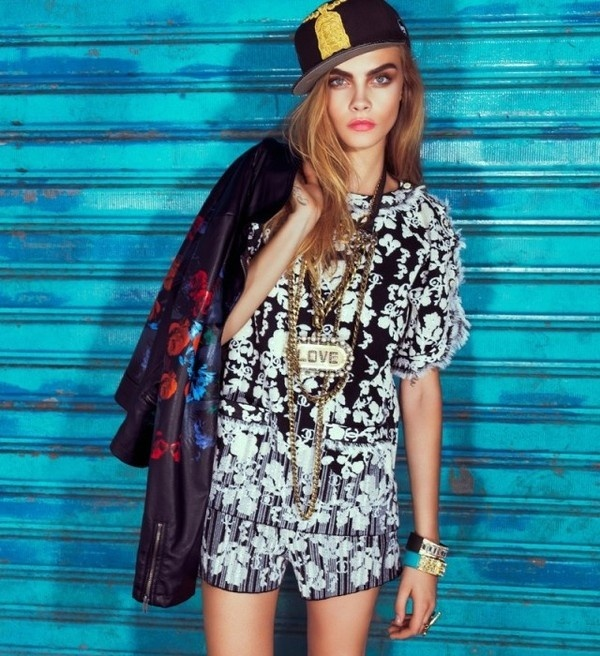 Cara Delevingne by Jacques Dequeker #fashion #photography #inspiration