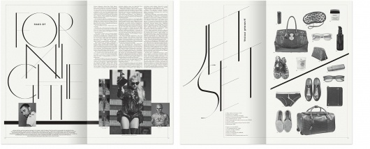 Non-Format - The Sanahunt Times – 3 #awesome #typography