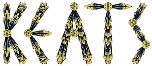 Micah Lidberg | Illustration, Etcetera! #yellow #design #illustration #gold #typography