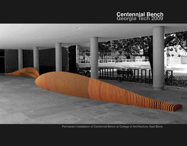 Interior Centennial Bench Design at Georgia Tech Furniture #interior #design #decor #home #furniture #architecture
