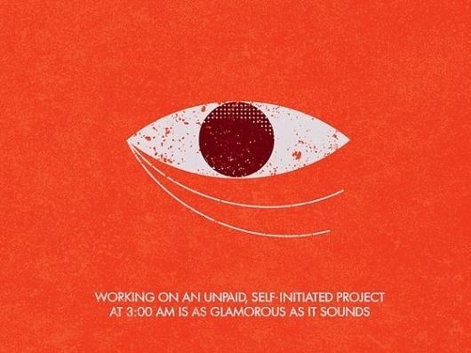 MAX100: The Book Project by matt stevens » Updates — Kickstarter #eye #illustration #typography