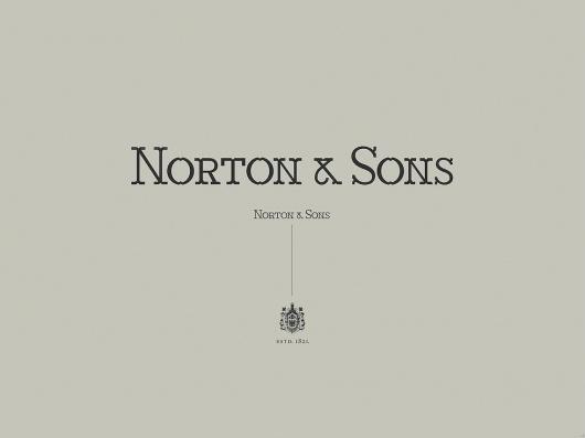 Norton & Sons   Moving Brands - a global branding company #branding