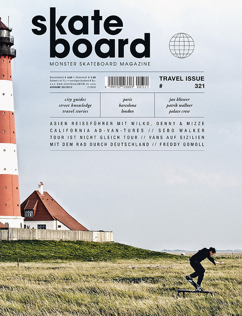 Monster Skateboard Magazine (Cologne, Allemagne / Germany) #design #graphic #cover #editorial #magazine
