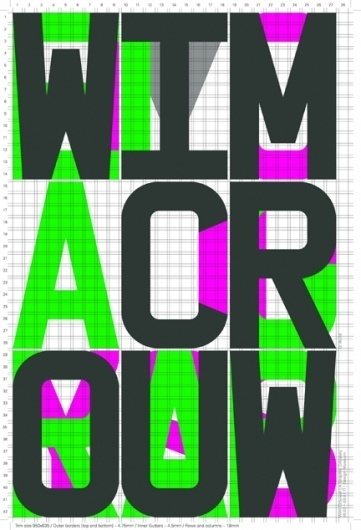 Design Museum Shop: Exhibition Products > Current Exhibitions > Wim Crouwel, A Graphic Odyssey > Build A Graphic Odyssey Poster #build #crouwel #poster #wim #type