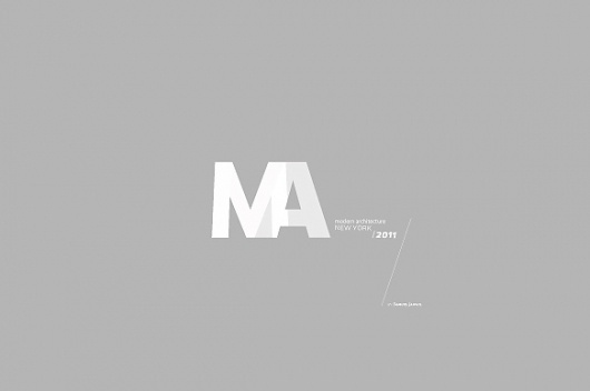 Modern Architecture / 2011 on the Behance Network #logo #branding