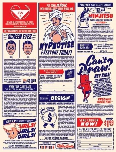 Timba's News Dept. #timba #retro #newspaper #smits #illustration