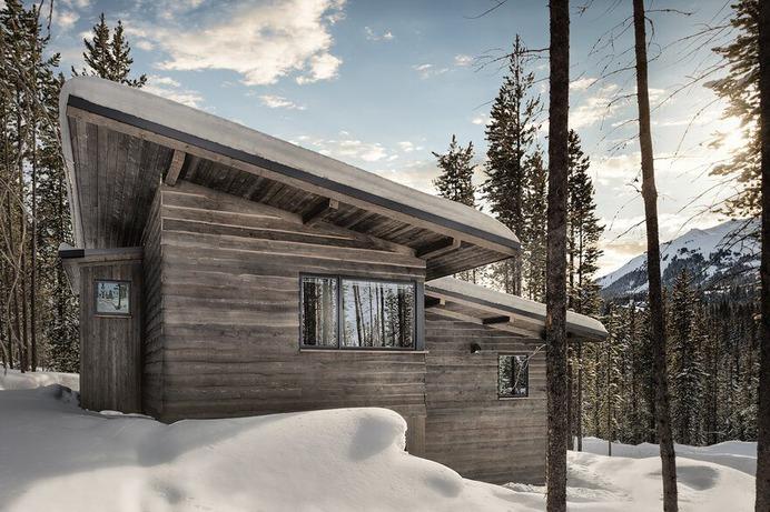mountain retreat, Teton Heritage Builders