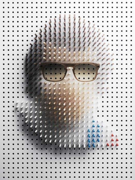 Steve Mcqueen Pin Portrait by Philip Karlberg #abstract #celebrity #gaga #pin #portrait #art #portraits #lady