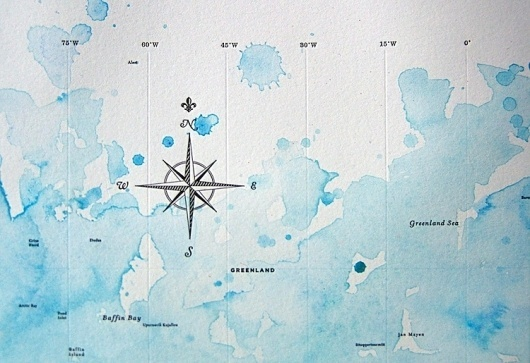 Wanted: A Typographic Map of the World | Co.Design #typographic #watercolour #map #typography